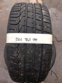 255/35/20 quality part worn for audi or jaguar