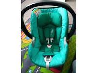 Mamas&Papas Cybex Atom Q Platinum car seat