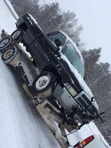 Plow Truck.