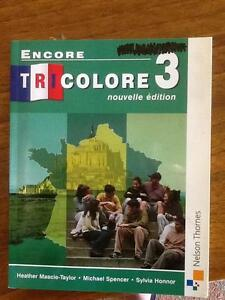 Tricolore 3 Text Book Claremont Nedlands Area Preview