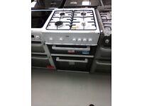 Beko 60cm Gas Cooker white 60cm Exdisplay (12 Months Warranty)