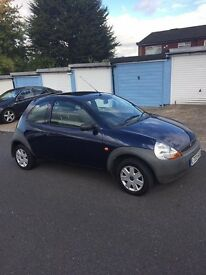 Ford KA 1.3cc 2003 MOT September 2017 Service History Only 75000 Miles From New With Service History
