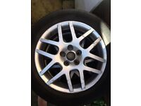 Vw alloys various beetle / golf 5x100 alloy wheels