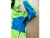 Marmot Men's Silverton Gore-Tex Pro Jacket - Lime Green/Methyl Blue, Large