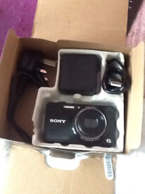 SONY DSC WX200 DIGITAL COMPACT CAMERA WITH WI FI BLACK-NOW REDUCED!!