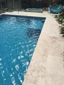 Classico Travertine Tumbled Pavers 610x406x32mm & 406x406x32mm Seven Hills Blacktown Area Preview