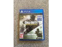 Call of Duty Infinite Warfare & Modern Warfare (PS4)