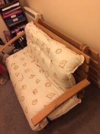 Small double futon.