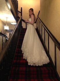 Gorgeous Mori Lee 2620 Wedding Dress