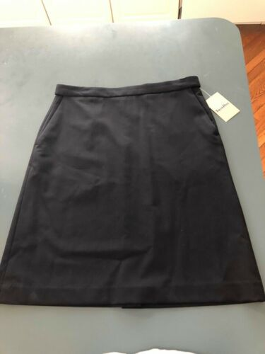 New US Airways Flight Attendant Airline Skirt/Twin Hill Blue Size 4R