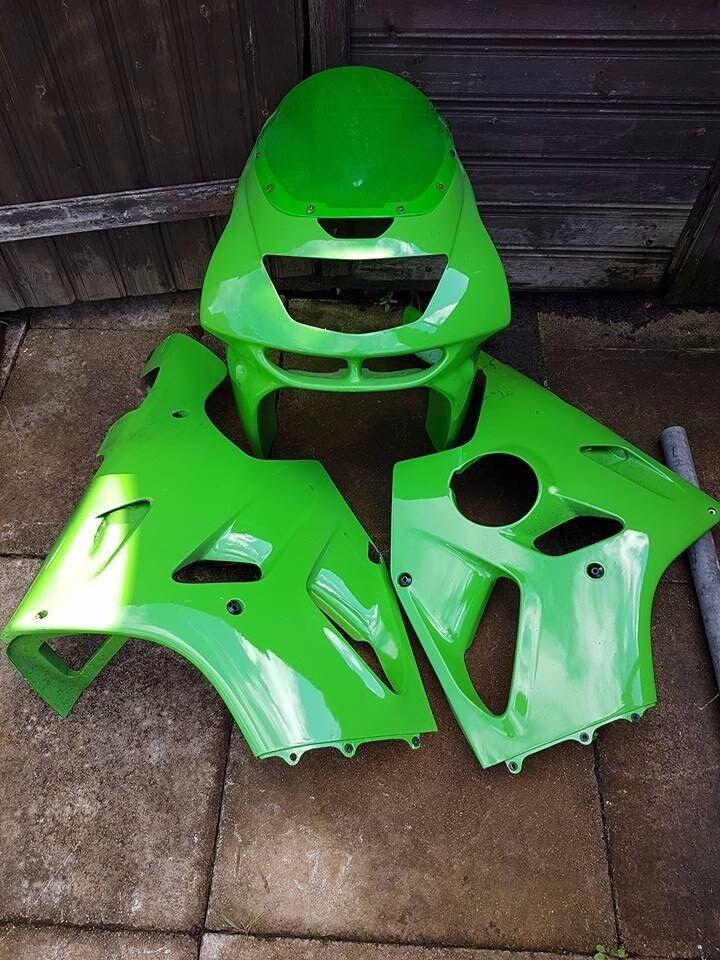 Kawasaki ZX6R 1995 - 1997 F1 - F3 parts