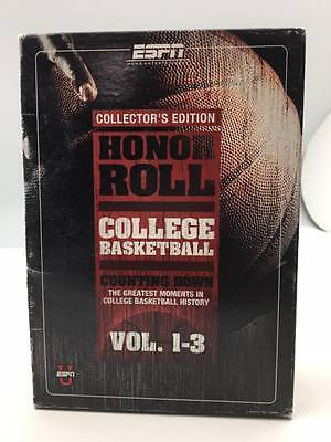 Espn   Honor Roll College Basketball 3 Pack