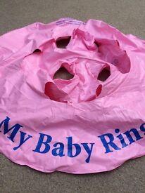 Baby swim ring/seat