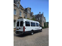 Destination Scotland ? Minibus Hire With Driver 8 & 16 Passenger Seats - Spacious Minicoaches
