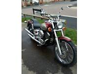 Motorbike to swap for car or van