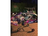 2015 kosmic otk go kart package