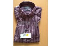 M & S shirt large size, pure cotton. New with tag