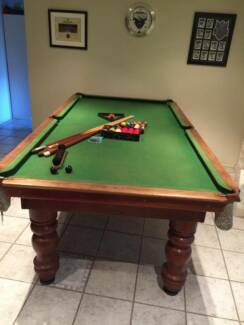 9FT Slate snooker and Pool table ( Negotiable) MUST BE SOLDED Glenwood Blacktown Area Preview