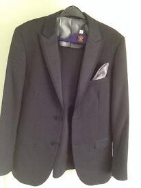 Dinner suit DJ black tie prom suit