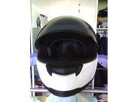 2x helmets a carberg and a shox
