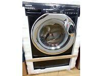 Hoover washing machine 9kg in black