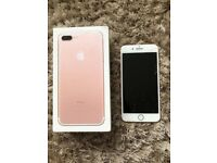 Apple IPhone 7 Plus 128GB Rose Gold O2