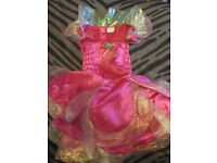 barbie fairytopia fancy dress only age 4/6 years approx great for party or play