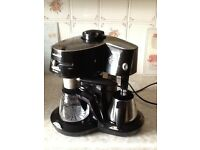 Morphy Richards Espresso and Cappuccino coffee Maker .