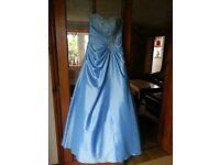 Cinderella Blue Prom Dress