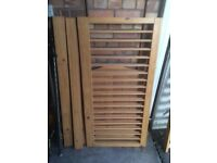 Cot bed and mattress(dismantled)
