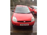 LOVELY Red Ford Fiesta 2002, 1.4l engine, 5 months MOT, £600 ONO