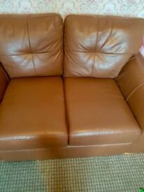 2 seater Good Quality leather sofa, Excellent condition