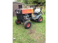Westwood T100 ride in lawnmower / garden tractor.