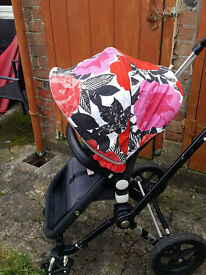 Cam 1 bugaboo with custom hoods and extras!!