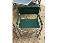 Canvas Folding Chairs x 2