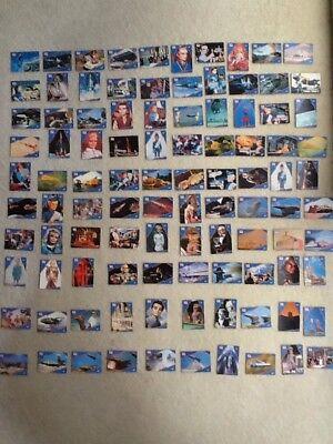 THUNDERBIRDS CARDS SET 1-100 Excellent 1992