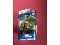 Disney Infinity Figure The Hulk Signed with proof
