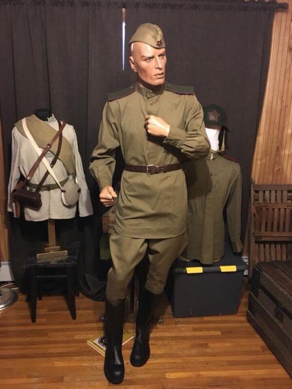 Russian  M43 Uniform By Schuster  Soviet red Army RKKA WWII