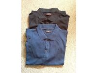2 Mens Pierre Cardin Polo Shirts