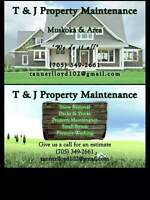 T&J property maintenance
