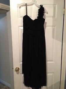 XL Black David's Bridal dress