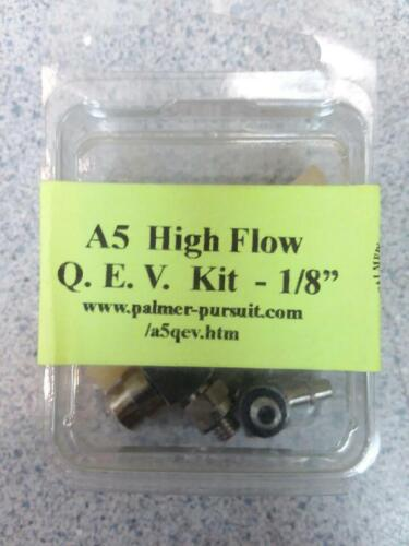 Palmers Pursuit Shop High Flow QEV Kit 1/8 Cyclone Feeds, Response Triggers New!