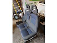 Double passenger seat. Citroen Relay/ fiat ducato/ peugeot boxer. New condition.