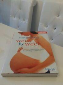 Your Pregnancy Week-by-week book! £5 or chocolate
