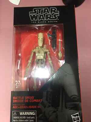 "Star Wars The Black Series BATTLE DROID #83 Clone Wars 6"" Action Figure NEW"