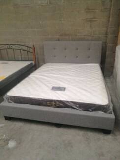 Brand New  Fabric Bed Frame in Double and Queen