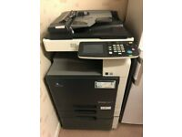 **AWAITING COLLECTION** Konica Minolta Bizhub C200 - Laser Printer, Scanner, Copier. A3&A4