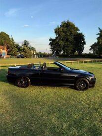 BMW Convertible 2005 Black / Black Leather Interior