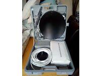 Portable Satellite System with Case (Silvercrest SL 65/12)