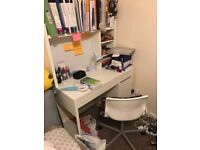 £60 IKEA Micke white workstation, in excellent condition.